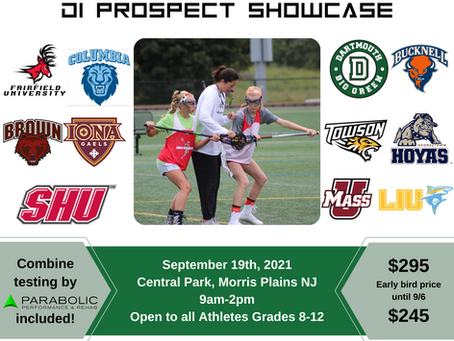 2021 D1 Elite Prospect Clinic - Over 10 D1 Coaches in attendance!