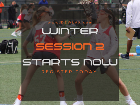 WINTER SESSION 2 STARTS NOW!