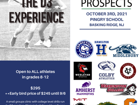 The D3 Experience Powered by Elite Lax Prospects