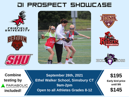 Connecticut D1 Elite Prospect Clinic - REGISTER TODAY!