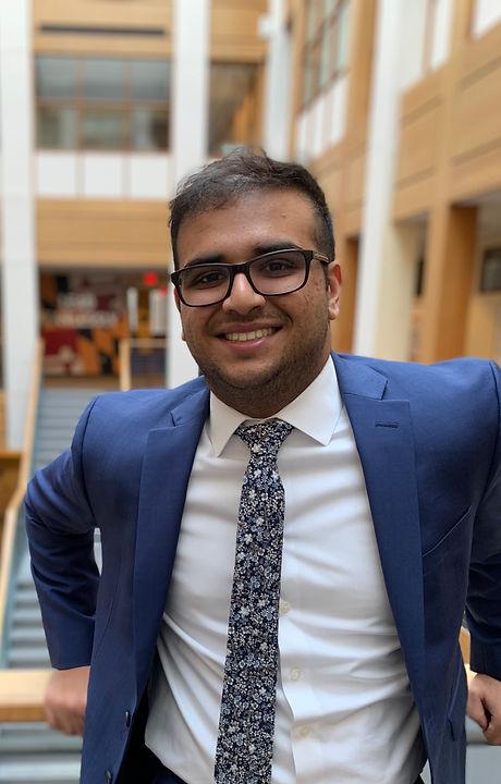 Arshdeep Singh - President