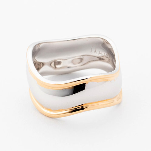 Wavy Silver Rings - MIX