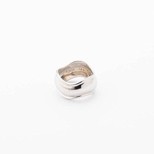 Wavy Silver Rings - SILVER