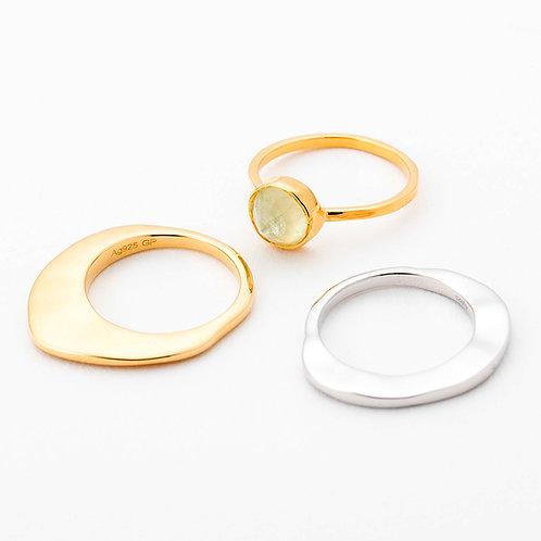 Trio Ring - YELLOW