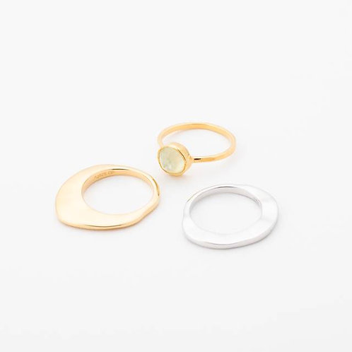 Trio Ring - YELLOW