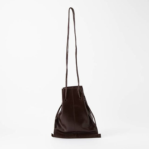 NAPPA PURSE - BROWN