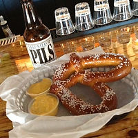 shack bar and grill pretzel