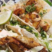 shack bar and grill shrimp tacos