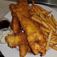 shack bar and grill fish and chips