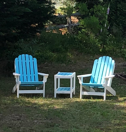 Chairs In Front Yard