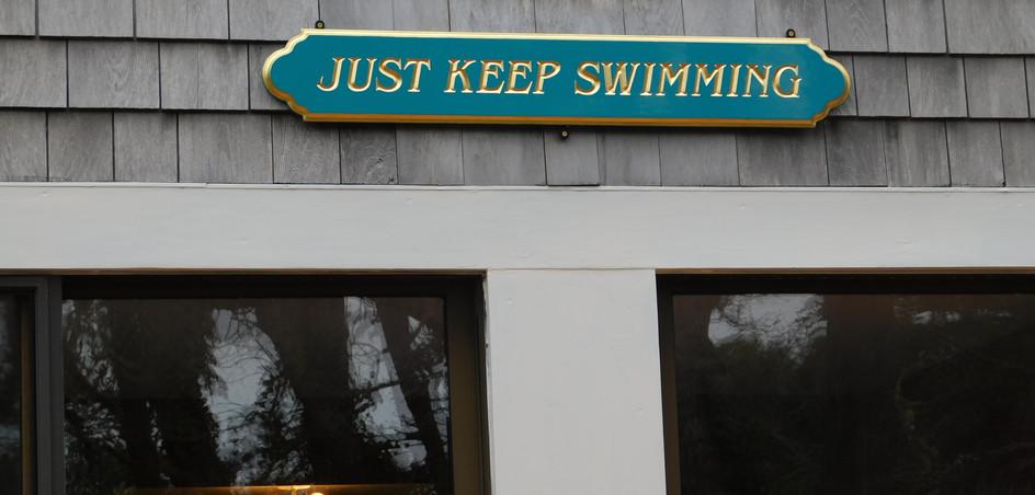 """Just Keep Swimming"""