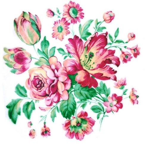 Růže s věnečkem