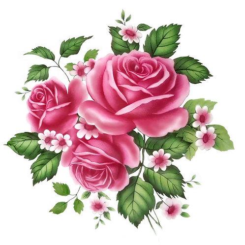 Purpurové květy
