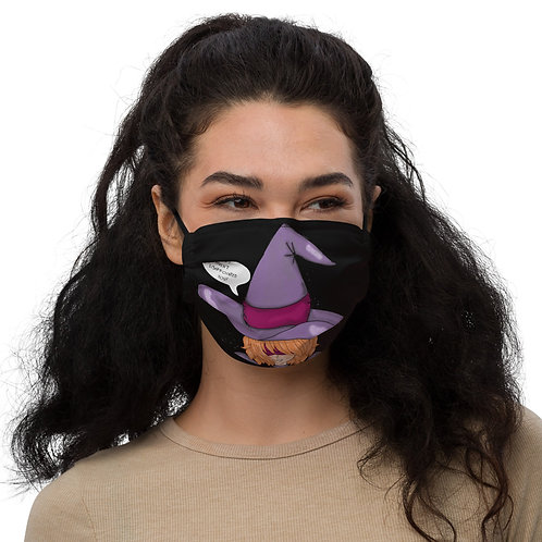Cheeky Witch Adjustable Face Mask