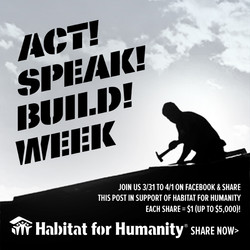 Habitat for Humanity email & web ad
