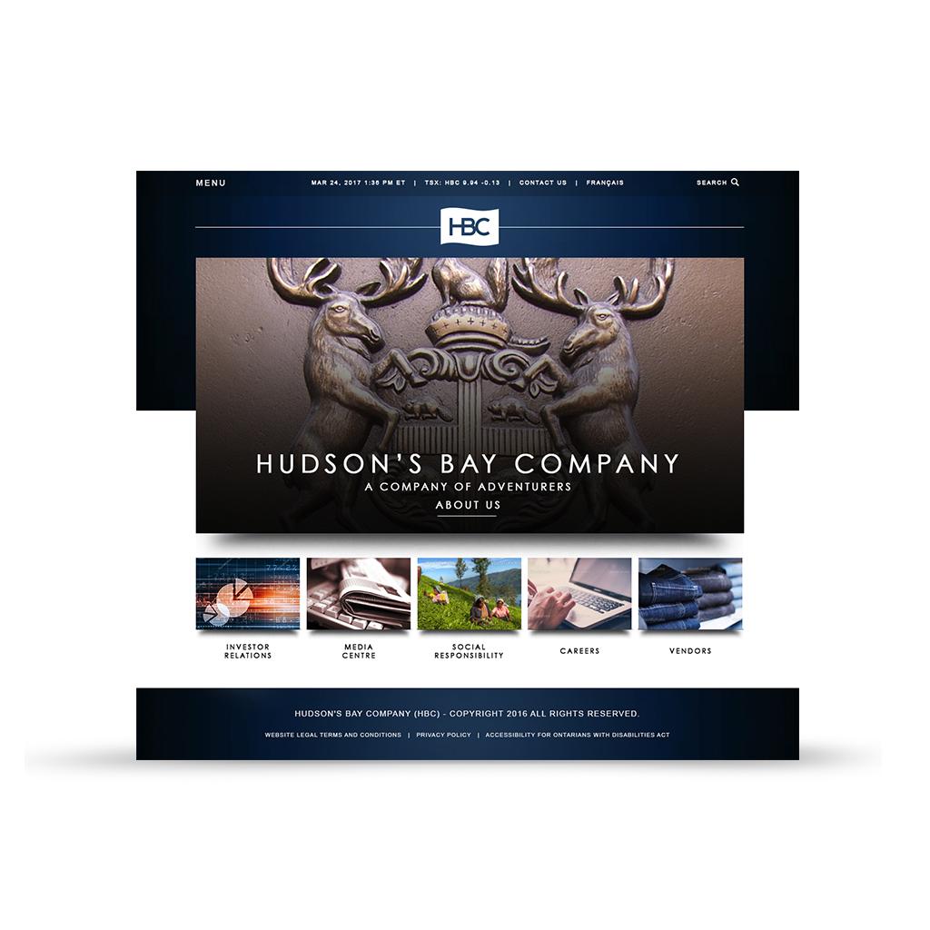 HBC corporate website