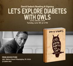 David Sedaris email