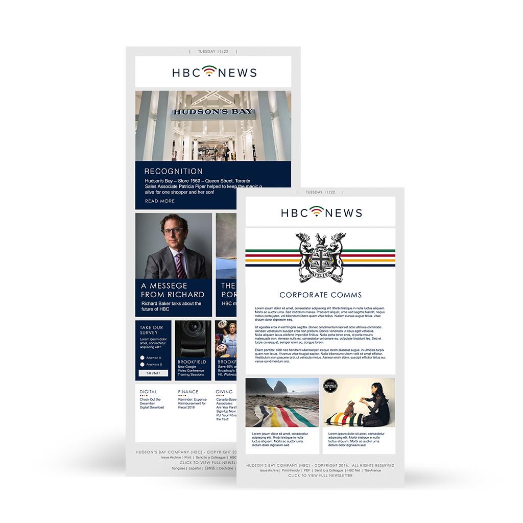 HBC corporate newsletter