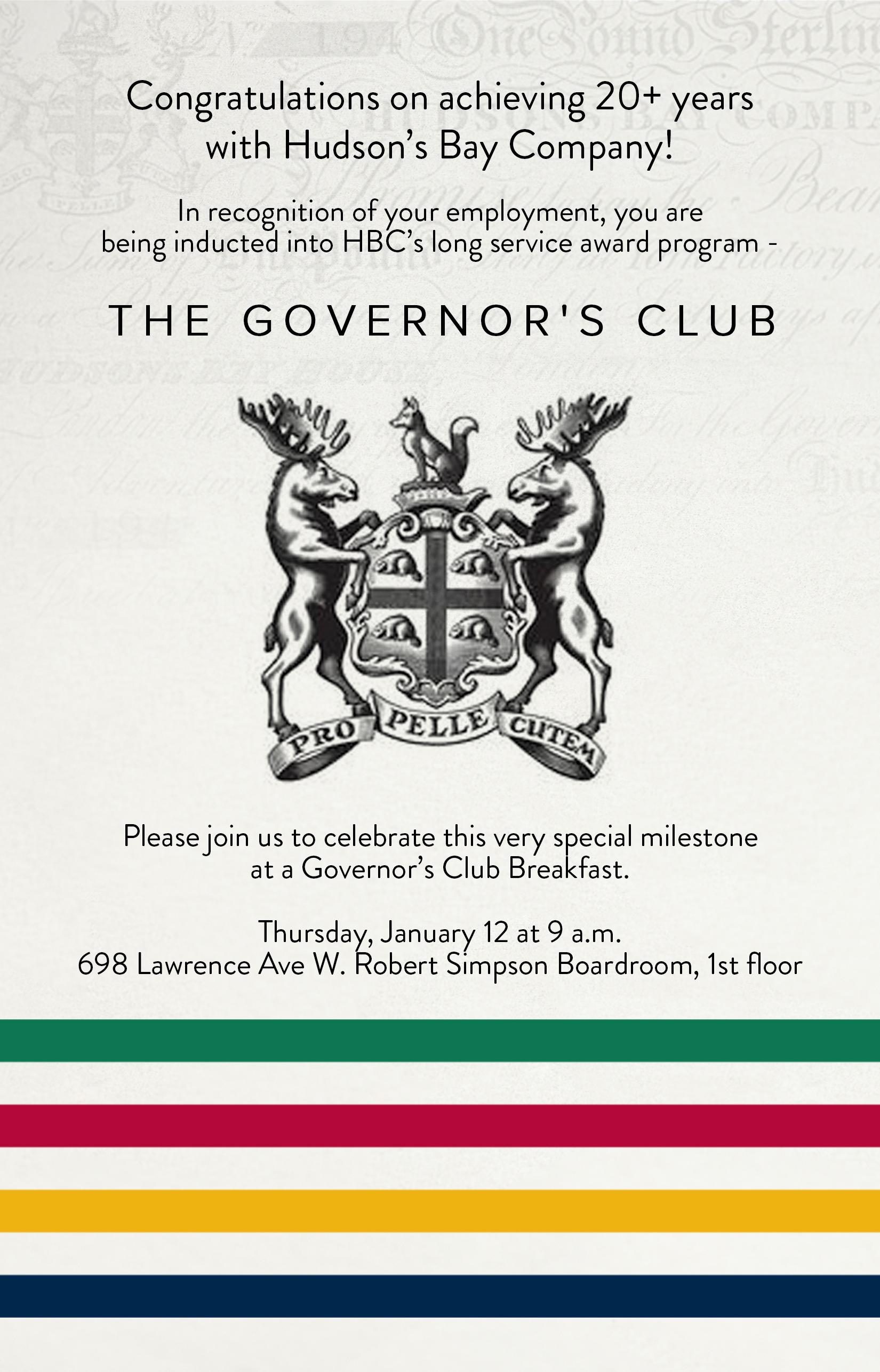 HBC invitation