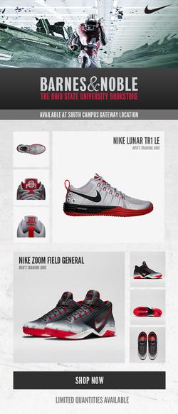 OSU Nike sneakers email