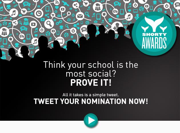 Shorty Awards email & web ads