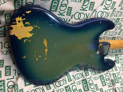 blue green burst