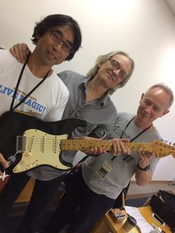 Ken, Sonny and Peter Barakan