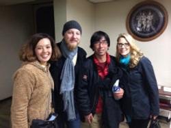 Susan, Derek, me and Sara