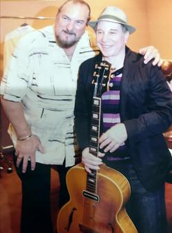 Steve Cropper with Paul Simon