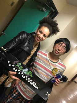 with Cindy Blackman
