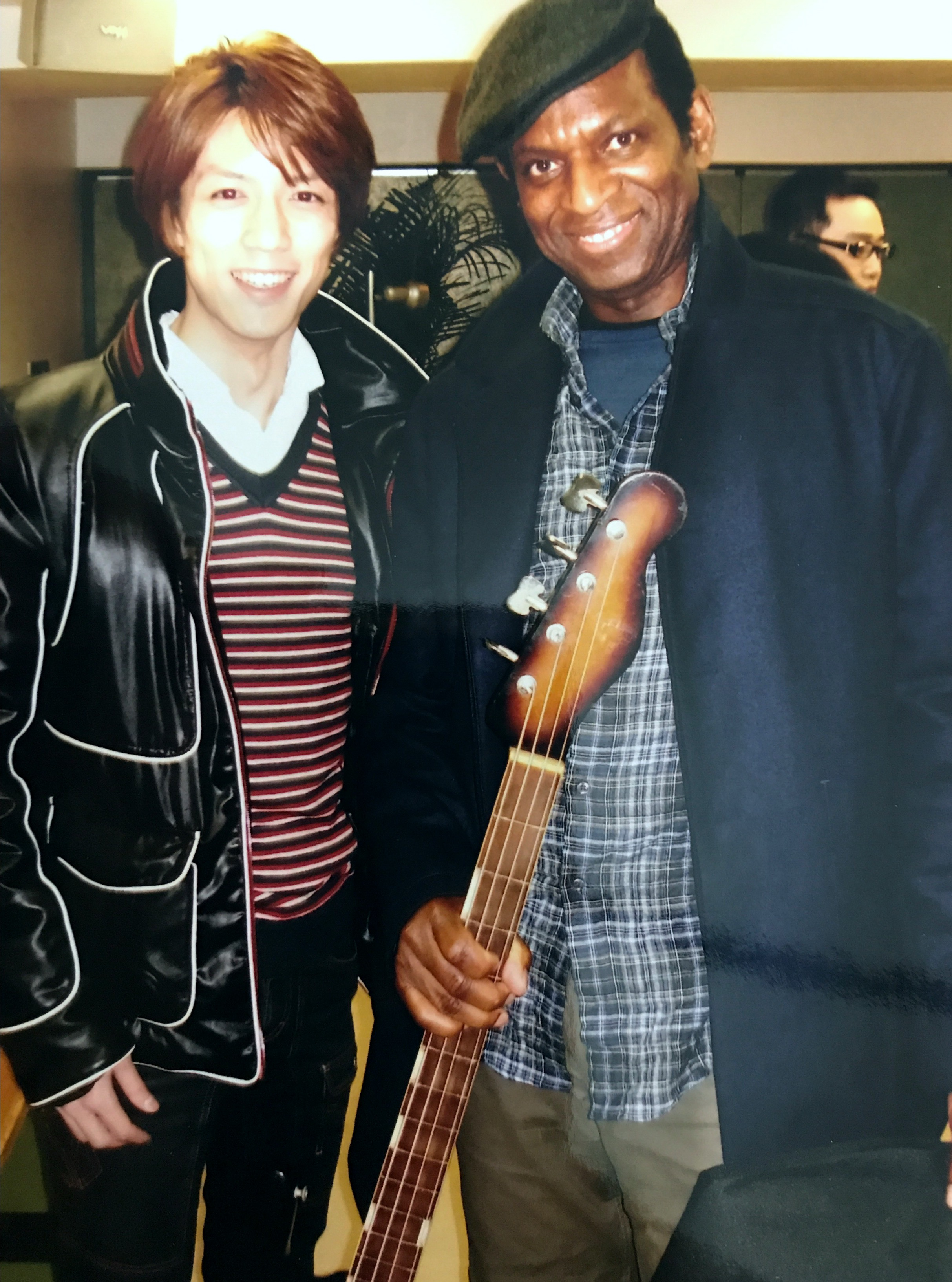 Kento Handa with Willie Weeks
