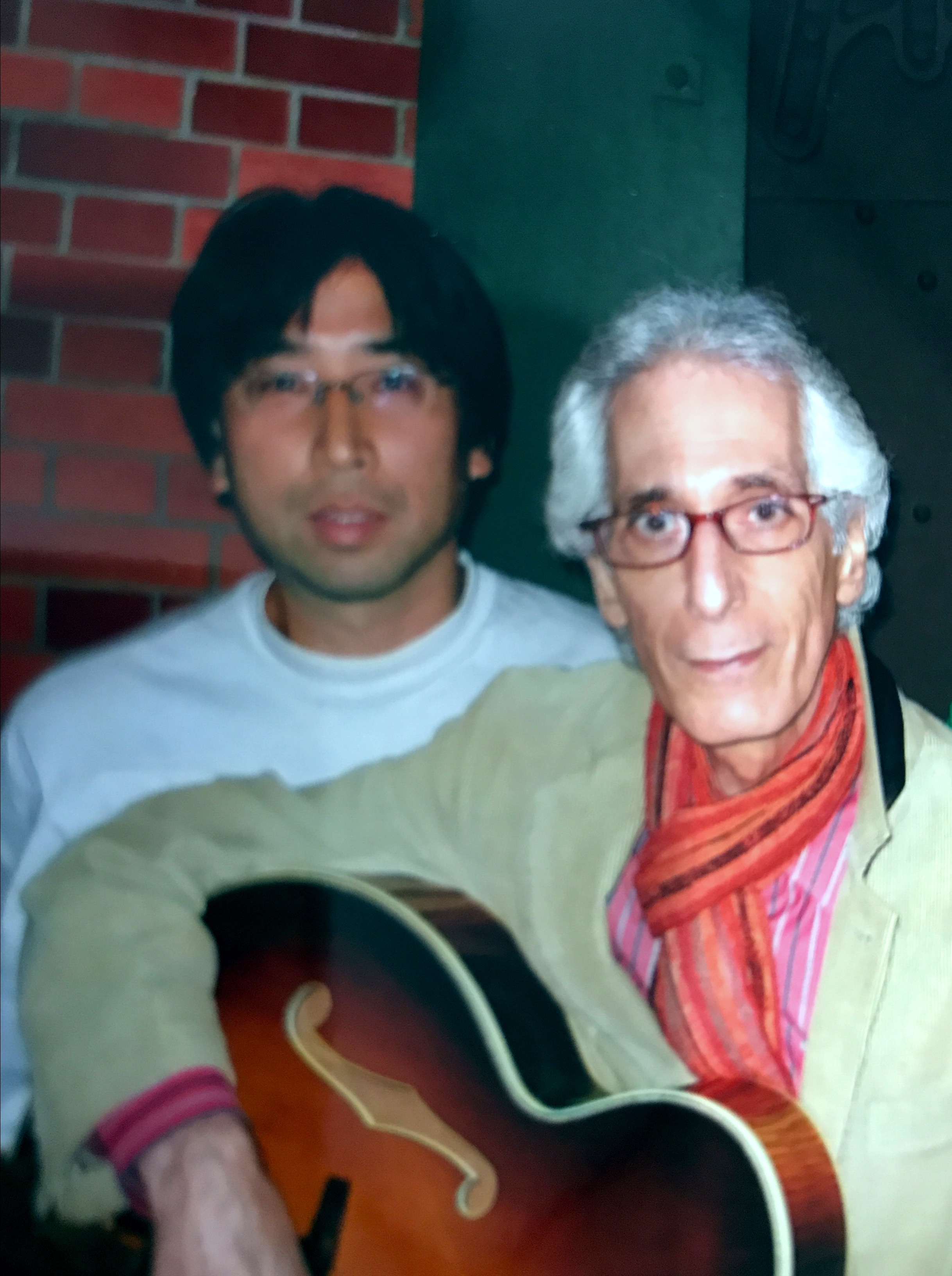 me and Pat Martino
