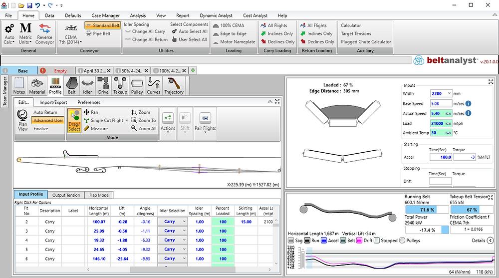 Belt Analyst Screenshot