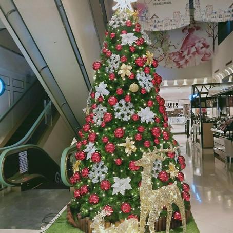 永和 比漾廣場 2020 聖誕佈置