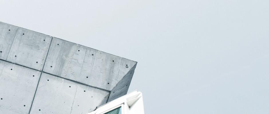 Glass & Concrete Structure