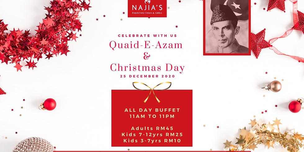Celebrate Quaid-E-Azam & Christmas Eve