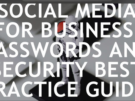 Are your business' social media accounts secure?