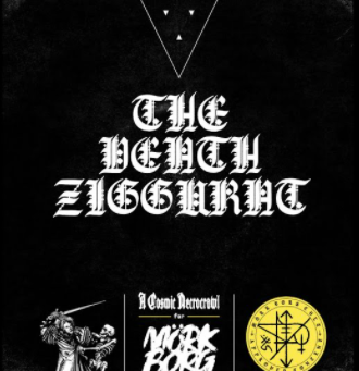 Mork Borg's The Death Ziggurat with The Gauntlet