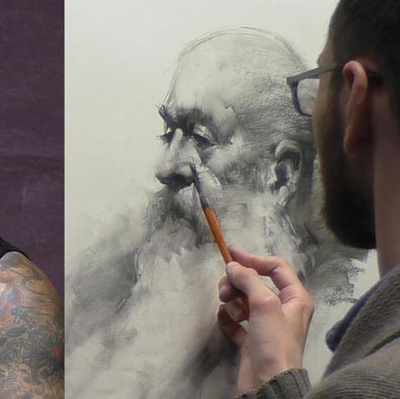 Portrait Drawing: Jacob Hankinson