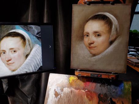 Master Copy: Van Dyck's Portrait of Margareta de Vos