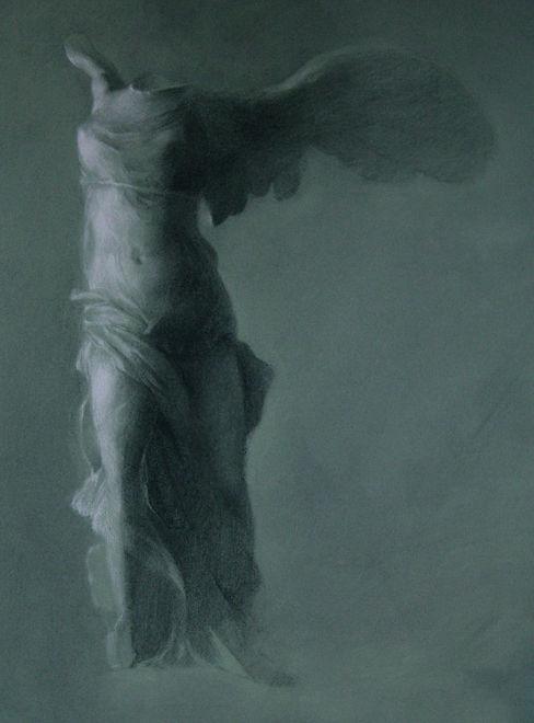 sadie-valeri_drawing_winged-victory1_18x