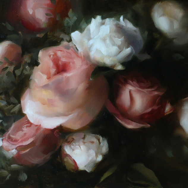 Pale Rose Arrangement