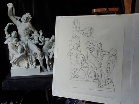 Blocking-In the the Laocoön
