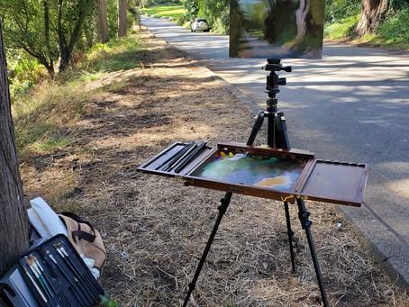 My Plein Air Painting Setup