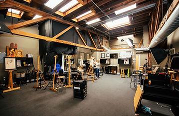 Sadie Valeri Atelier studio in San Francisco in 2019