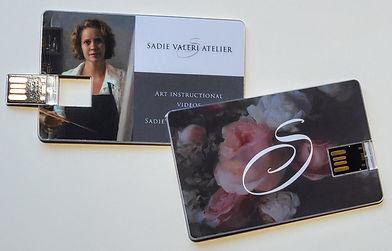 Sadie Valeri Atelier Instructional USB Card for Videos