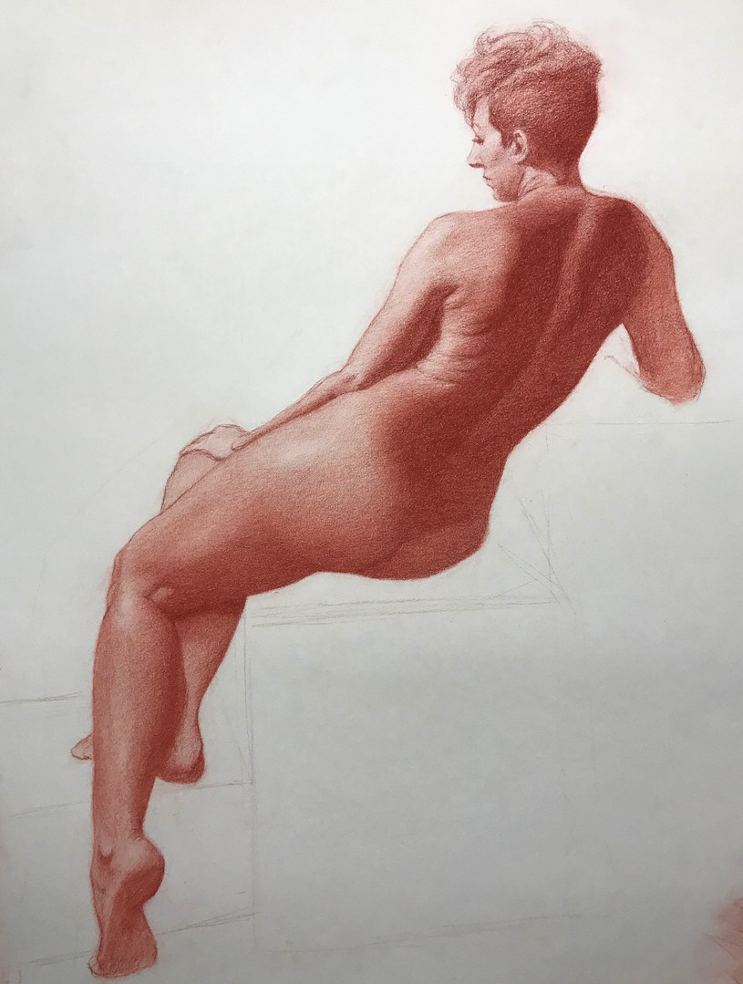 SanguineFigure_SanguineConteOnPaper_18x2