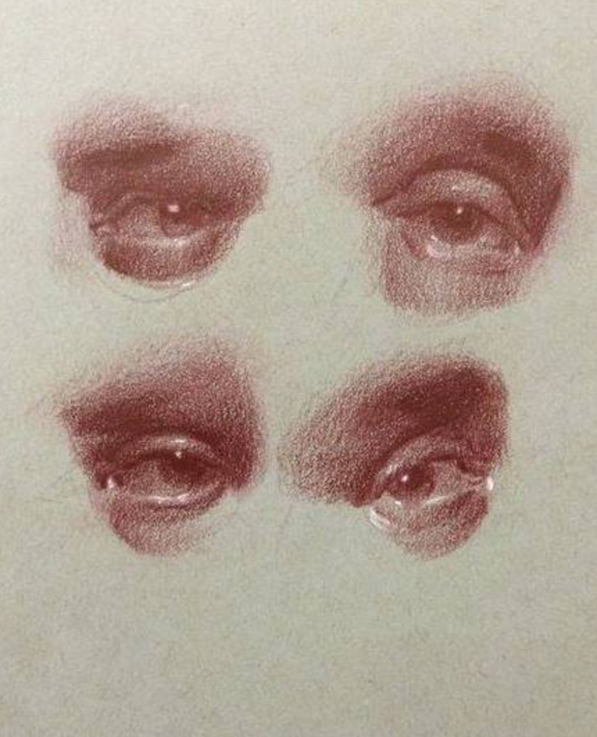 Eye drawing by Emilio Villalba