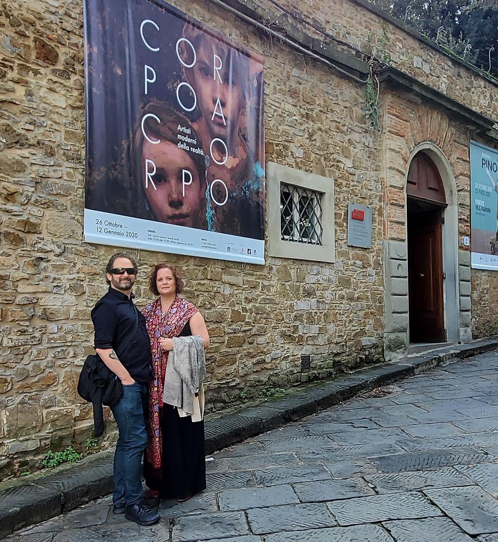 Sadie and Nowell Valeri, Florence, Italy