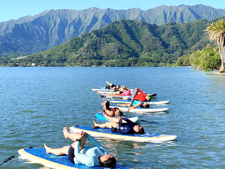 New Boards for ALL SUP Yoga Classes